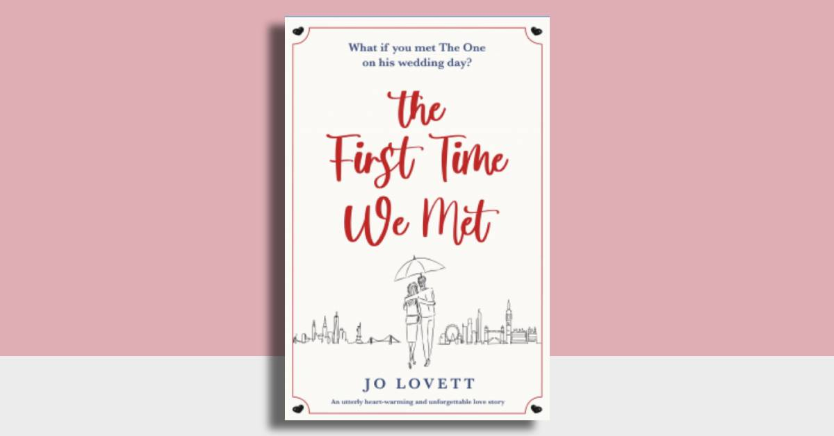 Featured image for ARC Review 'The First Time We Met' for elliemaiblogs.co.uk